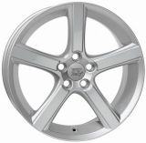 WSP Italy W1257 NORD SILVER R18 W7.5 PCD5x108 ET52.5 DIA63.4