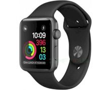 Смарт часы Apple Watch Series 1 42mm Space Grey Aluminium Case with Black Sport Band (MP032)