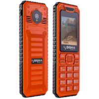 Sigma  X-style 68  3sim  Black-orange ip68