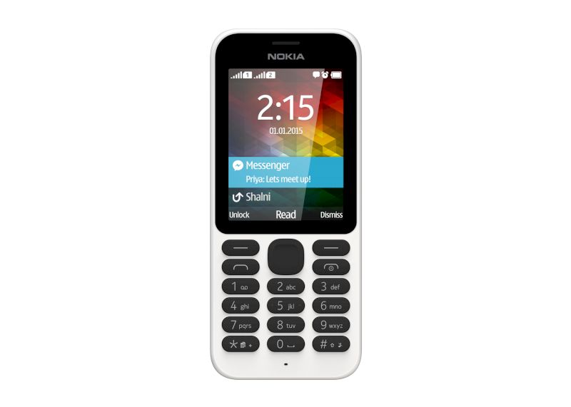 Nokia 215 DS white  2,4""