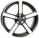 WSP Italy W1257 NORD ANTHRACITE POLISHED R18 W7.5 PCD5x108 ET52.5 DIA63.4