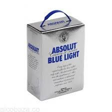 ВОДКА ABSOLUT BLUELIGHT АБСОЛЮТ 3L