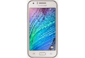 "Samsung SM-J105 mini  Galaxy J1 White 4""  RAM: 768Mb ROM:4Gb Dual Core"