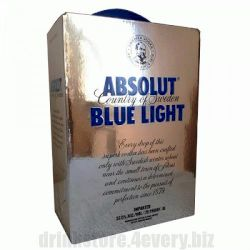 Водка ABSOLUT BLUE LIGHT 3 л
