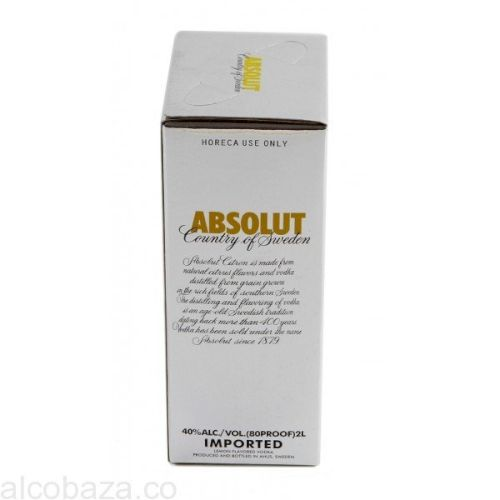 Водка Absolut Citron 2L (Абсолют Цитрон 2л)