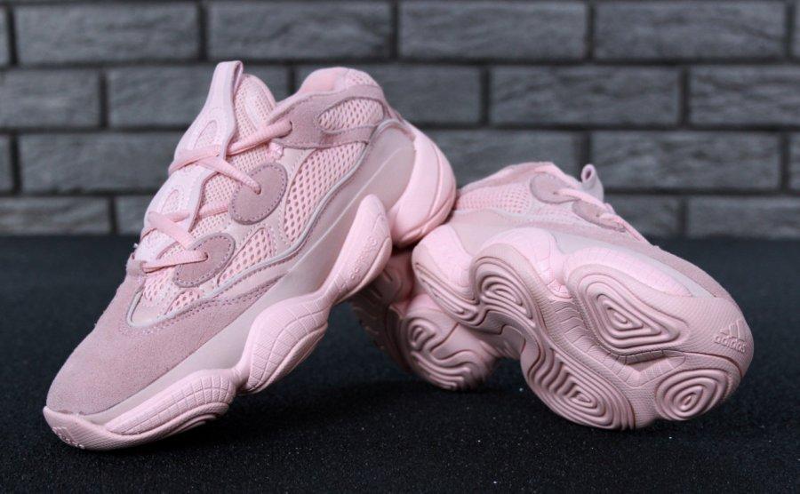 42916b88 Кроссовки женские Adidas Yeezy 500 Розовые (36-40): продажа, цена в ...